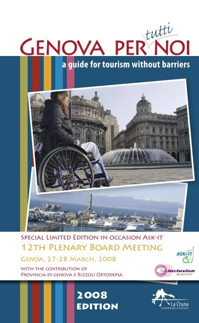 A Guide For Tourism Without Barriers 2008 Edition La Cruna