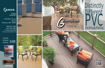 Genovations® Decking Catalog (8.59 MB) - Genova Products