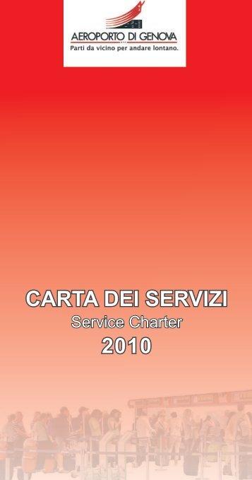 Carta dei Servizi - Aeroporto di Genova - Genoa
