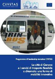 La città di Genova ei servizi di trasporto flessibile a chiamata - CIVITAS