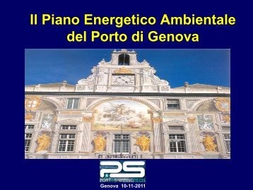 "Genova ""green port"" - Greencityenergy"
