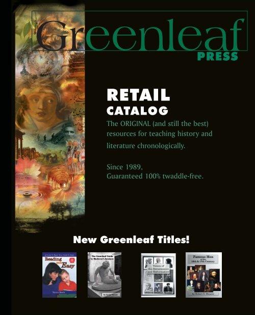 to download the current Greenleaf Press eCatalog