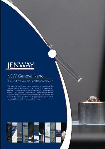 Genova Nano Leaflet - Jenway