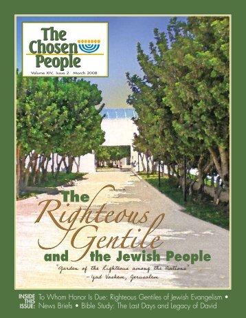 Righteous Gentile Gentile - Chosen People Ministries