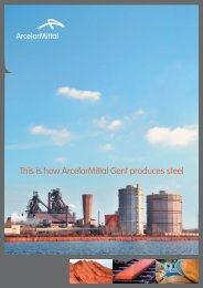 This is how ArcelorMittal Gent produces steel
