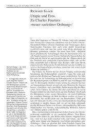 Utopie und Eros. Zu Charles Fouriers - Rosa-Luxemburg-Stiftung