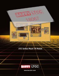 LTCC Surface Mount T/R Module - Barry LTCC Multilayer Circuits
