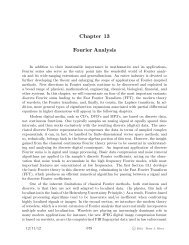 Chapter 13 Fourier Analysis