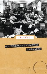 Historical Dictionary of Journalism1 - Islam Islam