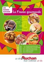 La France gourmande - Auchan