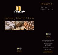 Speciality Cheese & Dairy Spe - Cheese Cellar