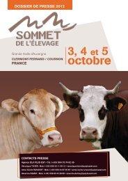 Au programme 2012 - Sommet de l'élevage