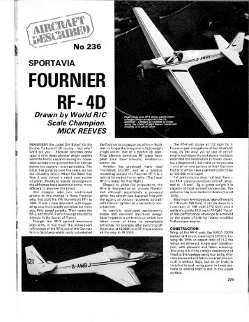 FOURNIER RF- 4D - CFI-A Home