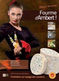 Dossier de presse - Fourme d'Ambert