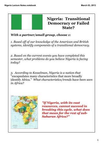 Nigeria Week 1.pdf - apgovernment