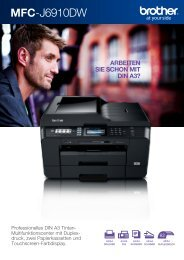 Brother MFC-J6910DW - Drucker - Fax