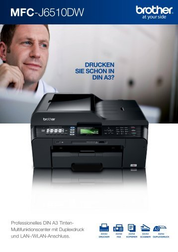 MFC-J6510DW - Drucker - Fax