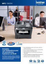 Brother MFC-7860DW - Drucker - Fax