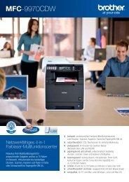 MFC-9970CDW - Drucker - Fax