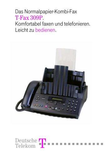 T-Fax 309P.book - Telekom