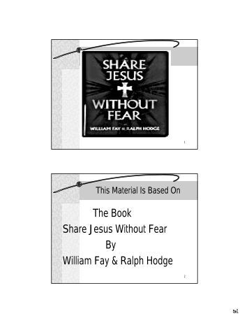 a critique of share jesus without Modern holders of versions of his ideas (the jesus seminar, for example) have  taken much of the limelight he once held, and while he was not the full father of.