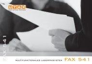 F A X 5 4 1 - Utax