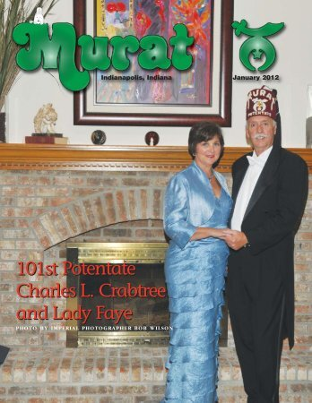 101st Potentate Charles L. Crabtree and Lady Faye ... - Murat Shrine