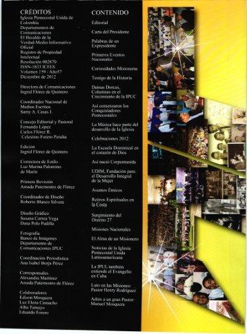El Heraldo Completo en PDF - Iglesia Pentecostal Unida de Colombia