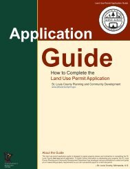 How to Complete the Land Use Permit Application - St. Louis County