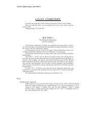 I.O.O.F. CEMETERY - Fulton County Public Library