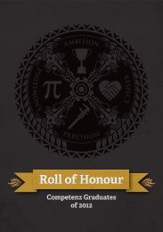 Click here to download Roll of Honour 2013 - Competenz