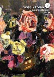 Fine Art - Russell Kaplan Auctioneers