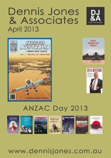 April 2013 New Releases - Dennis Jones & Associates