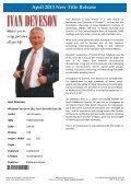 April 2013 New Releases - Dennis Jones & Associates - Page 4