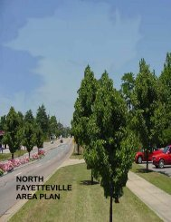 NORTH FAYETTEVILLE AREA PLAN - Cumberland County