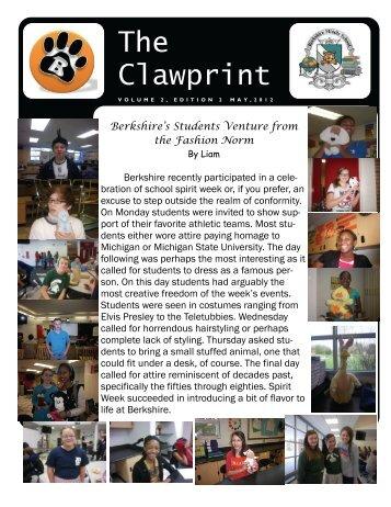 The Clawprint - Berkshire Middle School - Birmingham Public Schools