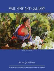 VAIL FINE ART GALLERY - The Catalogues