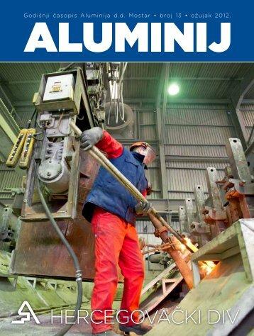 Aluminijev časopis br. 13 - Aluminij dd Mostar