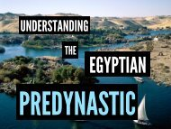 Lecture 5: Egyptian Predynastic - MSU Anthropology