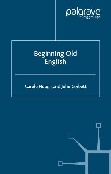 Beginning Old English