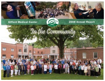 Annual Report 2008 - Gifford Medical Center