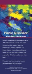 Panic Disorder: When Fear Overwhelms - NIMH - National Institutes ...