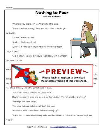 Swing Set Time Machine - Super Teacher Worksheets