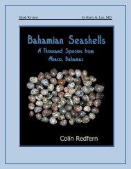 Bahamian seashells a thousand species from Abaco, Bahamas