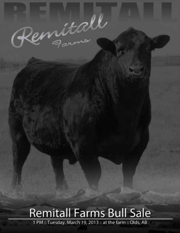 sale catalogue online - Remitall Cattle Company