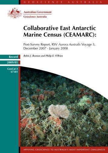 CEAMARC - Geoscience Australia