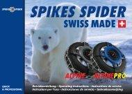 SWISS MADE - Spikes Spider