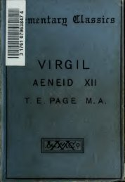 Aeneidos Liber XII;