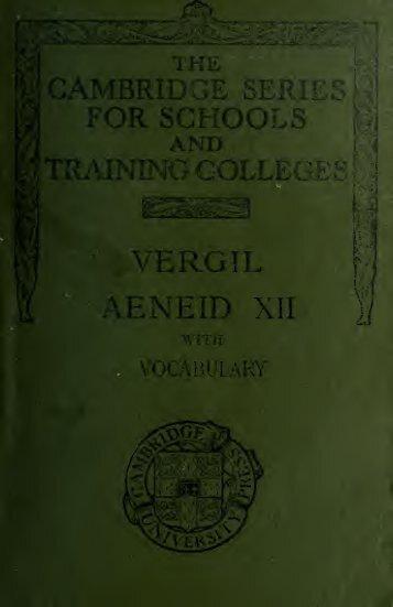 Aeneid, Book XII.;