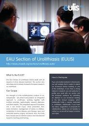 EAU Section of Urolithiasis (EULIS) - European Association of Urology
